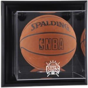 Sacramento Kings Fanatics Authentic Black Framed Wall-Mounted Hardwood Classics 1994 - 2016 Team Logo Basketball Display Case