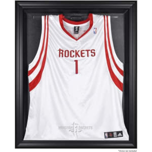 Houston Rockets Fanatics Authentic Black Framed Team Logo Jersey Display Case