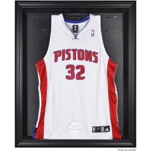 Detroit Pistons Fanatics Authentic (2005-2017) Black Framed Team Logo Jersey Display Case
