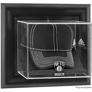 Brooklyn Nets Fanatics Authentic Black Framed Wall-Mountable Cap Display Case