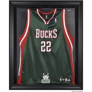Milwaukee Bucks Fanatics Authentic (2006-2014) Black Framed Team Logo Jersey Display Case