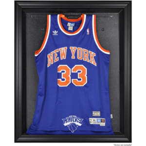 New York Knicks Fanatics Authentic Black Framed Team Logo Jersey Display Case