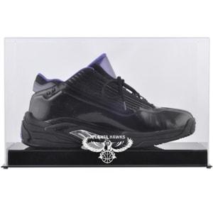 Atlanta Hawks Fanatics Authentic Hardwood Classics 2007 - 2015 Logo Basketball Shoe Display Case