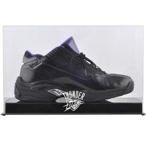 Oklahoma City Thunder Fanatics Authentic Team Logo Basketball Shoe Display Case