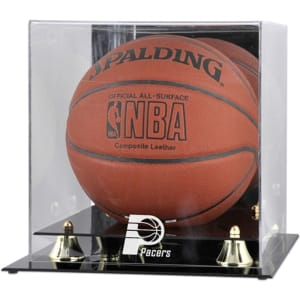 Indiana Pacers Fanatics Authentic (2005-2017) Golden Classic Team Logo Basketball Display Case