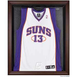 Phoenix Suns Fanatics Authentic Brown Framed Logo Jersey Display Case