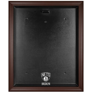 Brooklyn Nets Fanatics Authentic Brown Framed Jersey Display Case