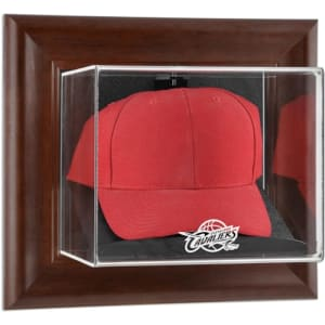 Cleveland Cavaliers Fanatics Authentic (2010-2017) Team Logo Brown Framed Wall-Mounted Cap Case