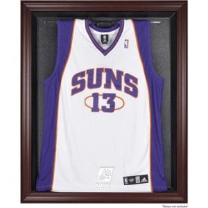 Phoenix Suns Fanatics Authentic Mahogany Framed Team Logo Jersey Display Case
