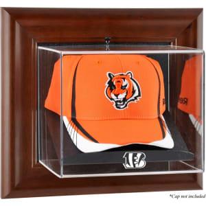 Cincinnati Bengals Fanatics Authentic Brown Framed Cap Case