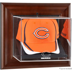 Chicago Bears Fanatics Authentic Brown Framed Cap Case