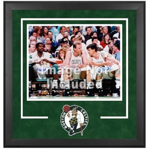 "Boston Celtics Fanatics Authentic 16"" x 20"" Horizontal Deluxe Setup Frame with Team Logo"