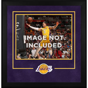 """Los Angeles Lakers Fanatics Authentic 16"""" x 20"""" Horizontal Deluxe Setup Frame with Team Logo"""