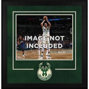 "Milwaukee Bucks Fanatics Authentic 16"" x 20"" Horizontal Deluxe Setup Frame with Team Logo"