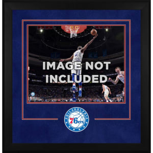 "Philadelphia 76ers Fanatics Authentic 16"" x 20"" Horizontal Deluxe Setup Frame with Team Logo"