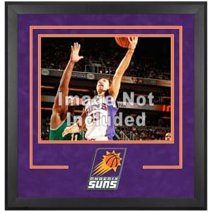 "Phoenix Suns Fanatics Authentic 16"" x 20"" Horizontal Deluxe Setup Frame with Team Logo"