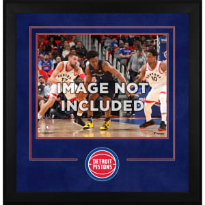 "Detroit Pistons Fanatics Authentic 16"" x 20"" Horizontal Deluxe Setup Frame with Team Logo"