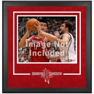 "Houston Rockets Fanatics Authentic 16"" x 20"" Horizontal Deluxe Setup Frame with Team Logo"