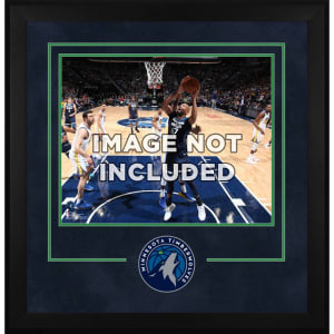 "Minnesota Timberwolves Fanatics Authentic 16"" x 20"" Horizontal Deluxe Setup Frame with Team Logo"