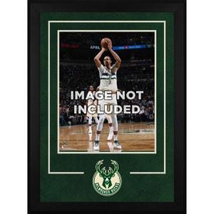 "Milwaukee Bucks Fanatics Authentic 16"" x 20"" Deluxe Horizontal Frame with Team Logo"