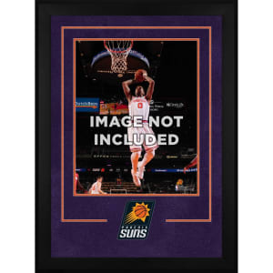 "Phoenix Suns Fanatics Authentic 16"" x 20"" Deluxe Vertical Frame with Team Logo"
