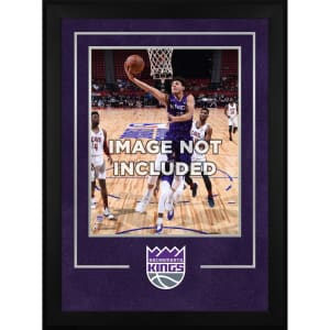 """Sacramento Kings Fanatics Authentic 16"""" x 20"""" Deluxe Vertical Frame with Team Logo"""