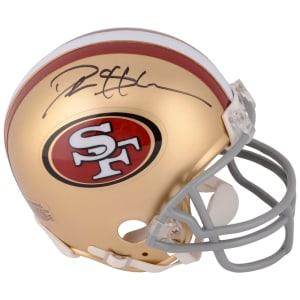Deion Sanders San Francisco 49ers Fanatics Authentic Autographed Mini Helmet