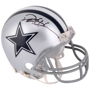 Deion Sanders Dallas Cowboys Fanatics Authentic Autographed Mini Helmet