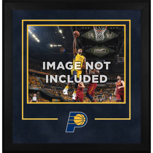"""Indiana Pacers Fanatics Authentic 16"""" x 20"""" Horizontal Deluxe Setup Frame with Team Logo"""