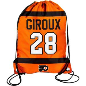 Claude Giroux Philadelphia Flyers Player Drawstring Backpack - Orange