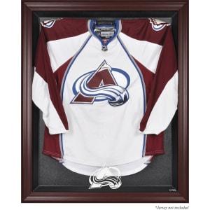 Colorado Avalanche Fanatics Authentic Mahogany Framed Jersey Display Case
