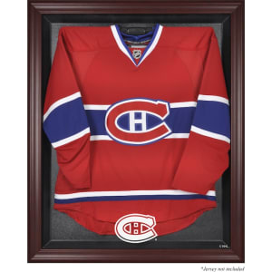 Montreal Canadiens Fanatics Authentic Mahogany Framed Jersey Display Case