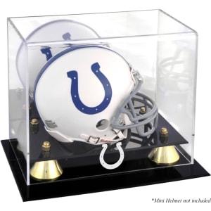 Indianapolis Colts Fanatics Authentic Golden Classic Mini Helmet Display Case