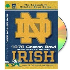 Notre Dame Fighting Irish 1979 Cotton Bowl DVD