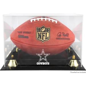 Dallas Cowboys Fanatics Authentic Golden Classic Team Logo Football Display Case