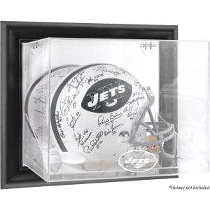 New York Jets Fanatics Authentic Throwback Logo 1998 - 2018 Black Framed Wall-Mountable Helmet Display