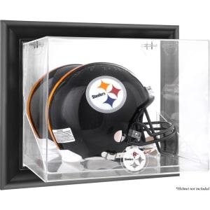 Pittsburgh Steelers Fanatics Authentic Black Framed Wall-Mountable Helmet Display Case