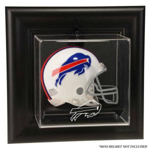 Buffalo Bills Fanatics Authentic Black Framed Wall-Mountable Mini Helmet Display Case