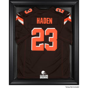 Cleveland Browns Fanatics Authentic Black Framed Jersey Display Case