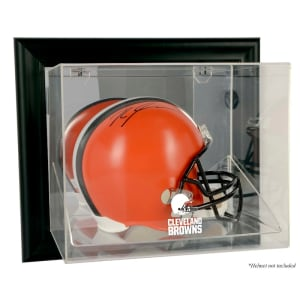 Cleveland Browns Fanatics Authentic Black Framed Wall-Mountable Helmet Display Case