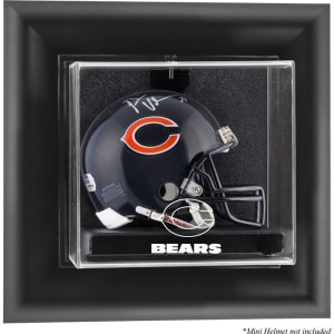 Chicago Bears Fanatics Authentic Black Framed Wall-Mountable Mini Helmet Display Case