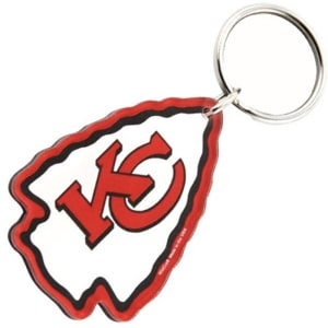 Kansas City Chiefs High Definition Logo Keychain