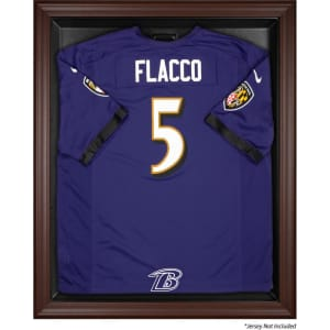 Baltimore Ravens Fanatics Authentic Brown Framed Logo Jersey Display Case