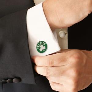 Boston Celtics Logo Cufflinks