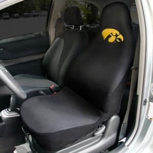 Iowa Hawkeyes Car Seat Cover - Black