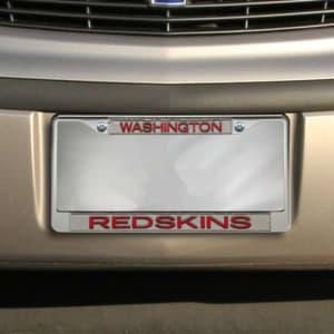 Washington Redskins Team Silver Glitter Metal Frame