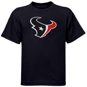 Houston Texans Preschool Team Logo T-Shirt - Navy Blue