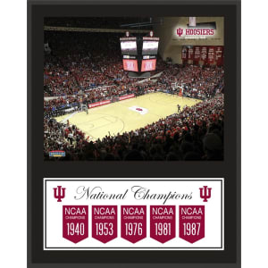 """Indiana Hoosiers Fanatics Authentic 12"""" x 15"""" Legacy Sublimated Plaque"""