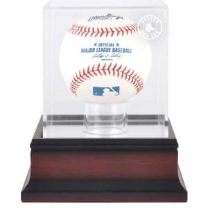 Boston Red Sox Fanatics Authentic Mahogany Baseball Logo Display Case