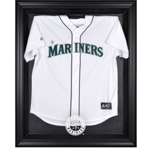 Seattle Mariners Fanatics Authentic Black Framed Logo Jersey Display Case